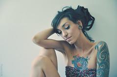 * (Flavie Eidel) Tags: portrait tattoo photo sweet pastel stretch piercing couleur doux alexsalvador
