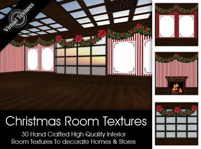 [VT] Xmas Room Textures
