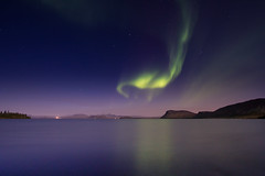 Day 254 - ingvallavatn (Inglfur B) Tags: longexposure sky green nature night dark landscape lights photo iceland picture peaceful atmosphere aurora thingvallavatn mynd northernlights borealis ingvallavatn norurljs  inglfur  ingolfur  inglfurb ingolfurb bjargmundsson