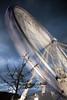 The Liverpool Big Wheel (explored 12/09/11) (mrcheeky2009) Tags: motion blur liverpool twilight fast turbo round albertdock 500d longexsposure rawcanon theliverpoolbigwheel