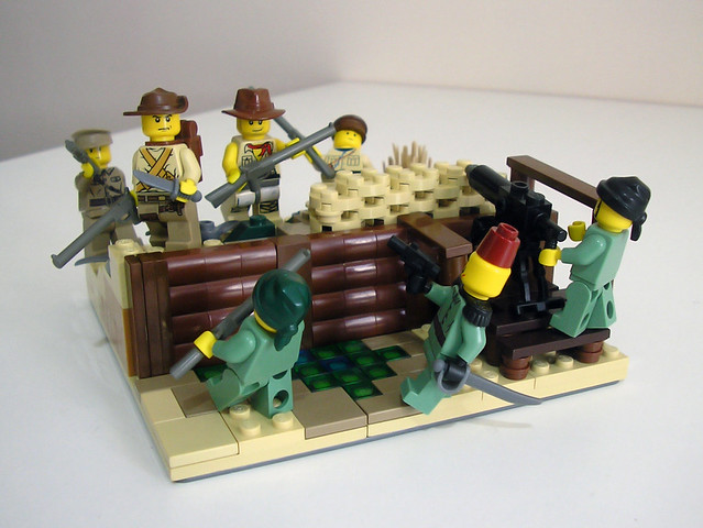 WWI Gallipoli-1915 Trenches - LEGO Historic Themes