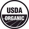 USDA organic seal black