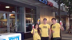 FRS Team Seattle 30 Aug in front of 24 Hour Fit (University Rep) Tags: college retail mouth campus buzz word marketing media rep social event brand campaign samples interns univerity adoption guerrilla networks wom marketers campuses urep