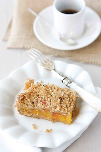 Peach Crumb Bars 4