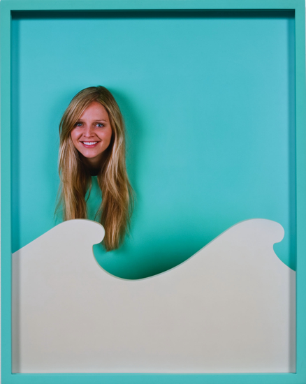 Elad Lassry, Angela, Waves, 2010