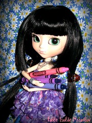Time to play! (pixachii) Tags: daisies pullip crayons fable junplanning ddalgi grooveinc foxishop