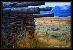 Home With A View (Steve Stackhouse) Tags: montana mt homestead farmstead historicbuildings loghouses centennialvalley