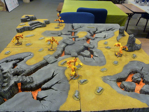 Mordor Lava Table