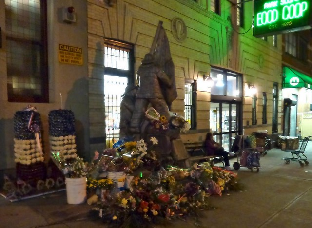 Firehouse Statue and Tributes