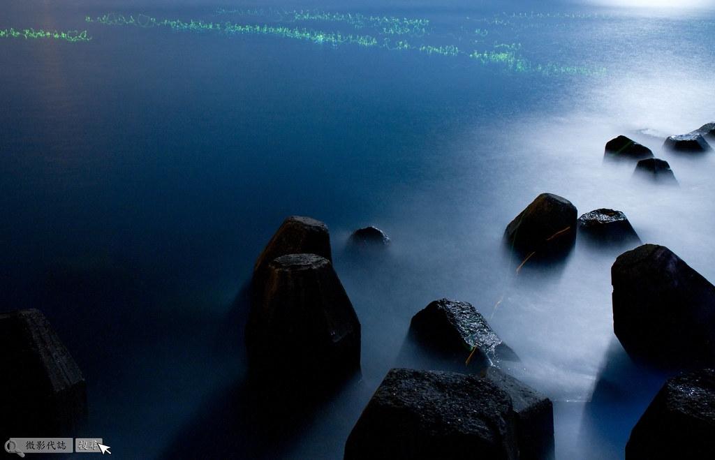 烏石港堤防夜拍 039