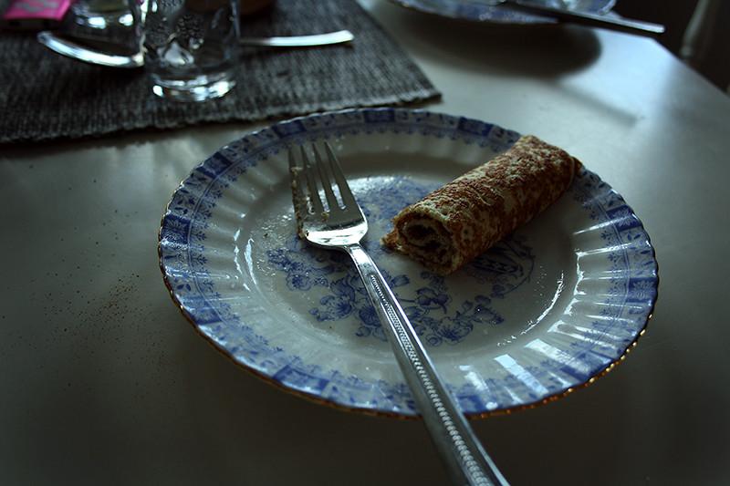 ärtsoppa och pannkakor hos daniel