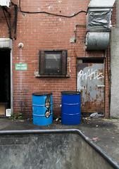 (Yermaaaaaaaaaaaaaaaaaaaaaaaaaaaaaaaaaaaaaaaaaaaaaa) Tags: door ireland urban brick broken wall graffiti alley decay belfast tagged northernireland yermaaaaa