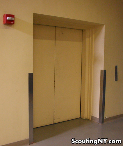 unassuming elevator
