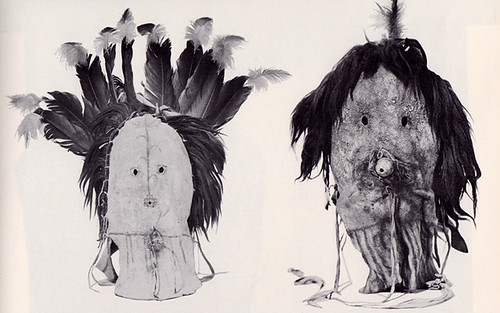 Navaho Masks for use in the Yei-be-chai dance