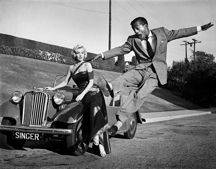 marilyn monroe & sammy davis jr
