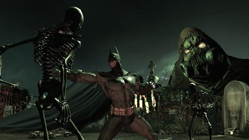no scarecrow drama in batman arkham city