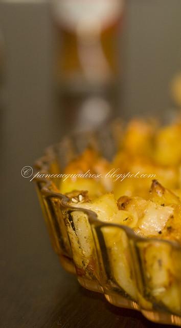 patate con pancetta