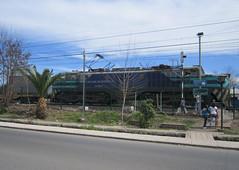 Pequea no es (daniel_01986) Tags: breda contenedores locomotora pdc paine electrica e32 fepasa e3208 trencarga