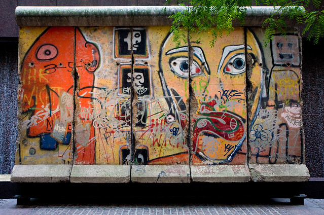 Berlin Wall on 53rd Street