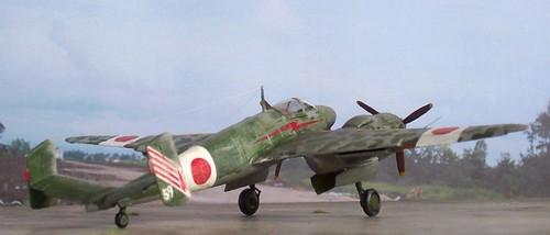 "1:72 Manshu Ki-53 ""Insei"", 1st chutai, 4th sentai - (Whif/Luft'46/scratch-built/kitbashing)"
