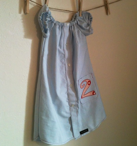 """Baseball"" Birthday Dress"