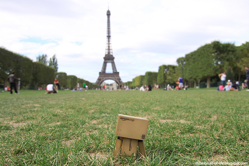 Danbo in Paris