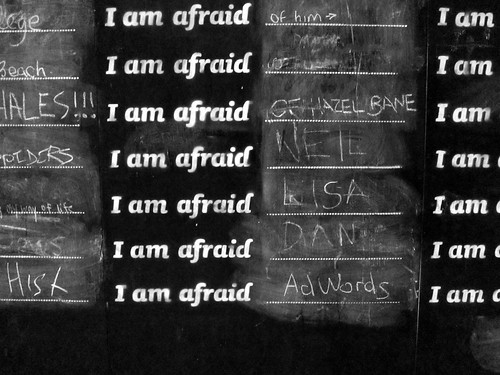 "Dublin Fringe: ""I am afraid"" Wall"