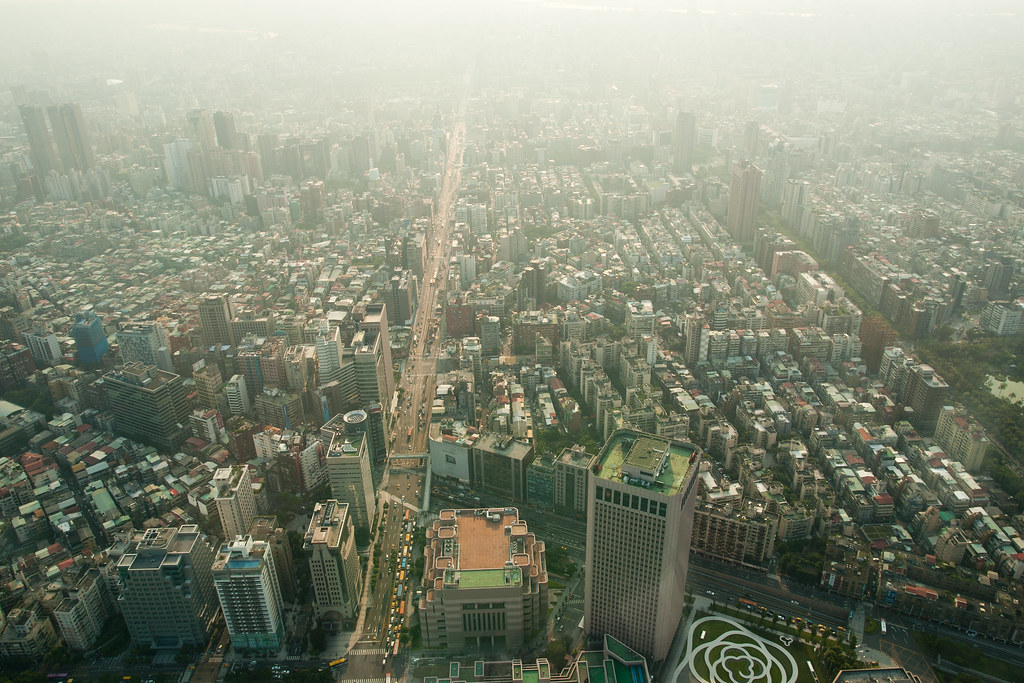 View from the Taipei 101