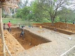 digging pits