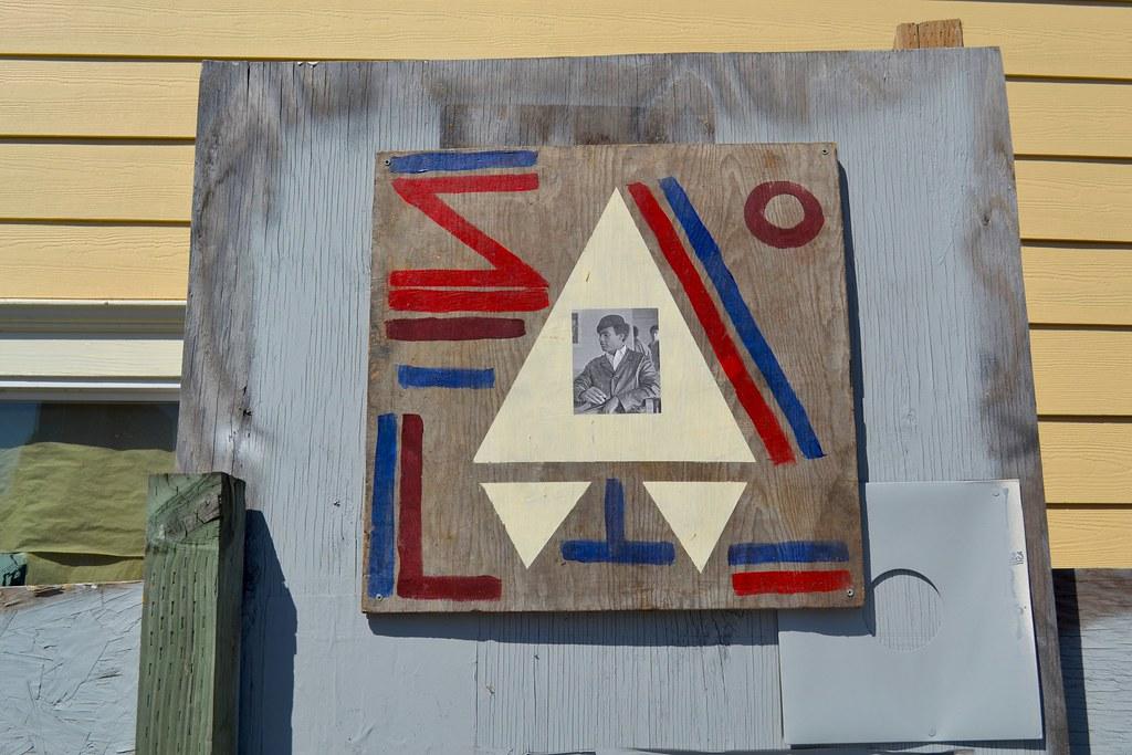 Huey P Newton, Oakland, Black Panters, Street Art, Graffiti