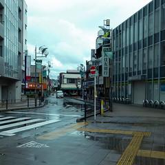 (noji-ichi) Tags: rain japan clouds shower tokyo town   gr  ricoh  koganei grd