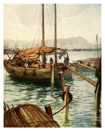 008-En el puerto de Hong Kong-China 1910- Norman H. Hardy