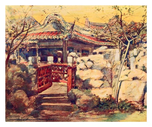 017- Una casa de veraneo-China 1909- Mortimer Menpes