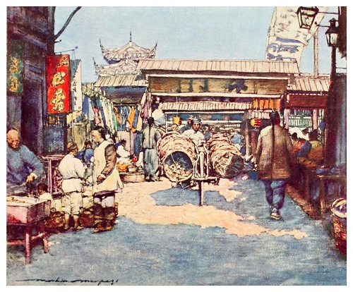 020-Un templo-China 1909- Mortimer Menpes