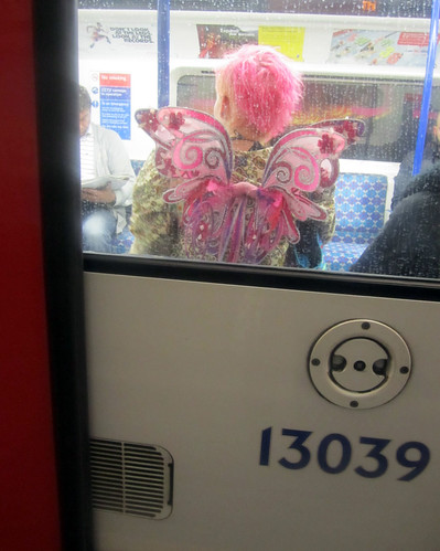 Pink Fairy on the Tube