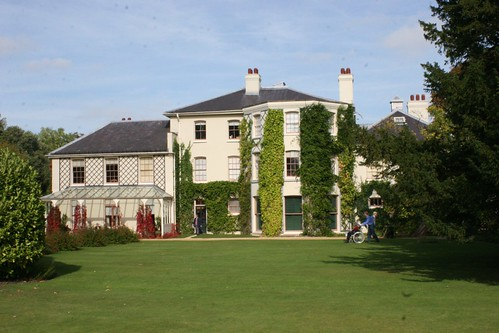 Down House, rear view from lawn