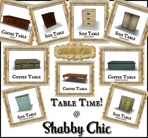 Table Time at Shabby Chic by Shabby Chics