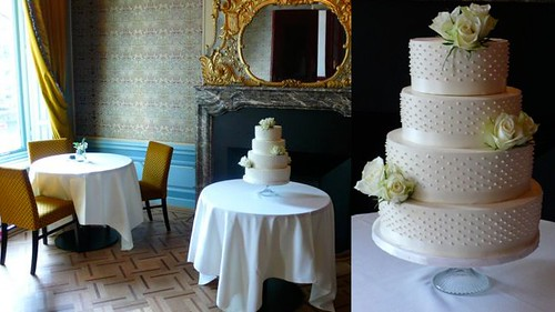 Classic Wedding Cake by CAKE Amsterdam - Cakes by ZOBOT