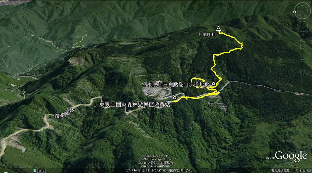 東眼山地圖
