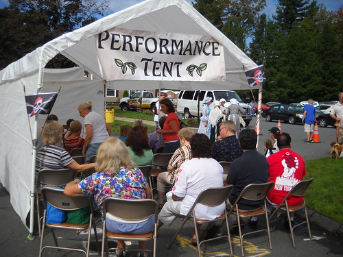 performance tent