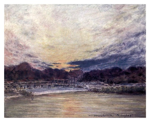 010-Hambleden-The Thames-1906- Mortimer Menpes