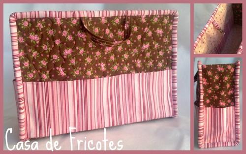 Rosa e Marrom by Casa de Fricotes - Valérie Roberto