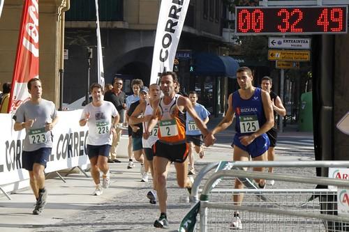 Ganadores: Jon Salvador Villa (dorsal 2) e Iker Rueda Rodríguez  (dorsal 125)
