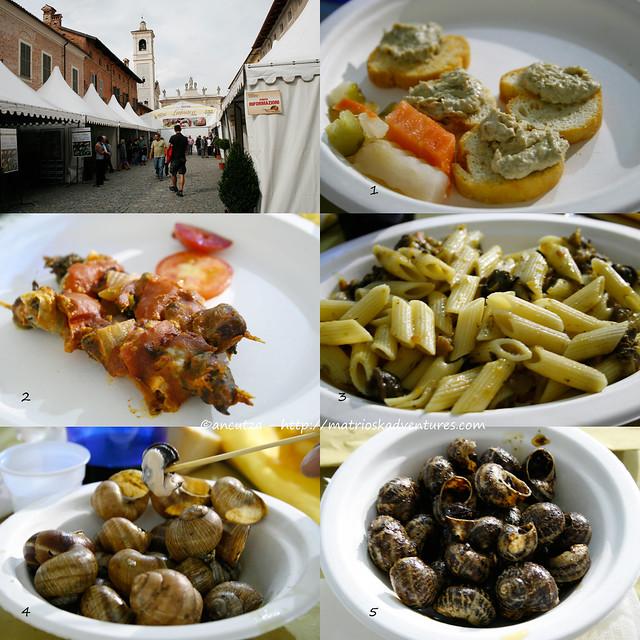 foto menu a base di lumache