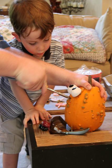 Mr Potato Head Pumpkin kit from Target