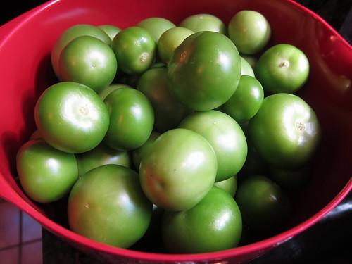 tomatillos husked