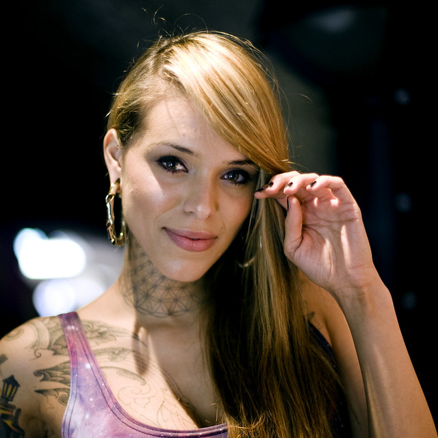 London Tattoo Convention 2011 - Arabella Drummond