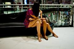 Faceless Legs (Andreas Paradise) Tags: street woman color slr legs streetphotography spnp fujix100