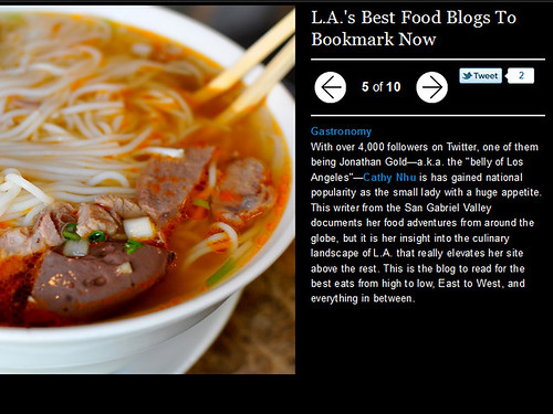 Refinery 29: L.A.'s Best Food Blogs To Bookmark Now