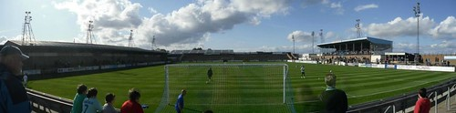 Station Park  Forfar, Panorama From North Terracing
